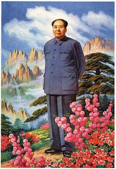 Great leader Mao Zedong 1997. Chinese propaganda posters - modern chinese propaganda.