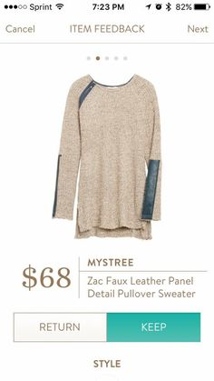 Looks stylish for the weekend but Comfy to wear with leggings or skinnys