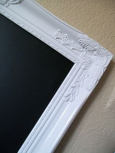 FRAMED CHALKBOARD42x30 Xtra Lg Baroque Ornate by shabbymcfabby,