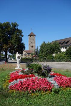 Laufenburg (Kanton Aargau) - Schertliturm Kanton, Switzerland, Beautiful Places, Sidewalk, Travel, Viajes, Traveling, Trips, Pavement