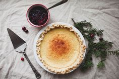 buttermilk pie // the little red house