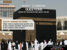 Muslim worship the Kaaba