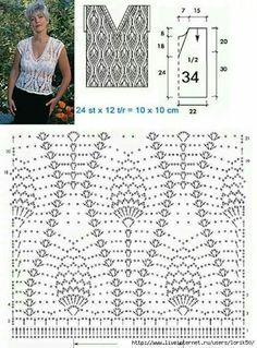 Stitch crochet pattern for women
