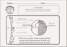 BLOG DE PLÁSTICA Y MANUALIDADES EN PRIMARIA.: Movimientos de la Tierra .Día-Noche  y Las Estacio...