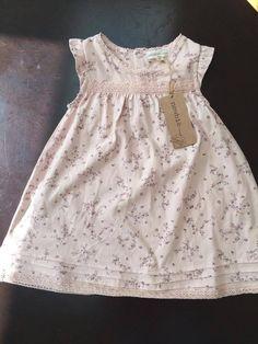 Newbie by KappAhl Baby Girl Organic Cotton dress 18-24 months