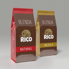 Packaging Café Rico Blenda