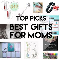 Gift guide for the Moms/Grandmas/Aunts in your life. There are a lot of great and unique ideas in here!