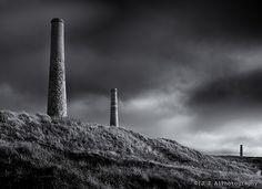 Disused Cornish Mines on the SW Coastal Path (Levant and Geevor Mine)