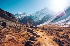 Community Story . Me and my brother decided spontaneous to travel together to the Annapurna Base Camp in Nepal and to escape from our every day life. Although having never been hiking before it was the best decision ever. The trip took us 5 days to go up and down many little mountains till we finally made it to the 4.500m ABC in the middle of the Himalaya . Our last stage of our trip had us leaving early in the morning. We started walking through the mist enjoying the sunrise. The day was…