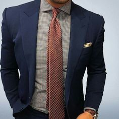 This definitely looks smart and sharp. #menswear #mensfashion