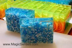 Magic Senses designer glycerin soap