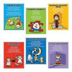 Nursery Rhyme Posters - OrientalTrading.com