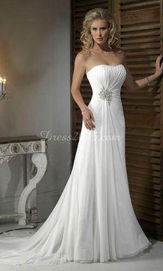 Beach Wedding Dresses. (Yes)