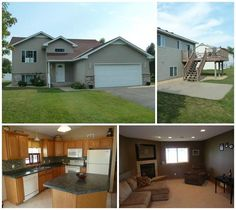 Just Listed! Conveniently located in West St Cloud, this 4 bedroom, 2 bathroom home is fully finished with numerous accents and amenities including a newer roof and new tile backsplash in the kitchen. You will love relaxing in this oversized family room in front of a gorgeous fireplace. #CentralMNhomes #realestate #homes