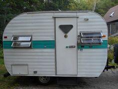 1964 Tee Pee Camper Trailer Teepee 15 Travel Trailer In