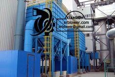 Xianrun Blower Provides Centrifugal Fan for Electrostatic Dust Collector, check www.lxrfan.com, xrblower@gmail.com