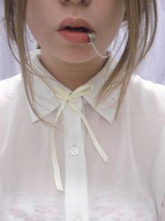 always white shirt