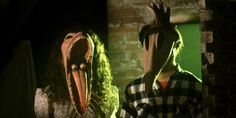 Take a Peek at 'Documentary for the Recently Deceased: The Making of Beetlejuice' - iHorror Movie Character Costumes, Movie Characters, Tim Burton, Scary Movies, Horror Movies, Beetlejuice Movie, Geena Davis, Movie Shots, Sugar Skull Art