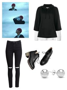 """""""Taehyung inspired outfit save me m/v"""" by i-love-jimin on Polyvore featuring Gap, Maison Margiela, H&M and Jewelonfire"""