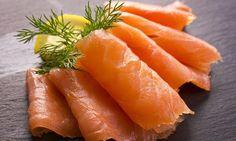 Finnish food : rawsalted salmon fish.exellent on bread.