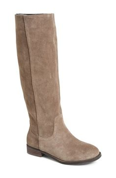 Sole Society 'Kellini' Suede Knee High Boot (Women) available at #Nordstrom