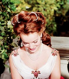 The Golden Year Collection - Romy Schneider as empress Elizabeth of Austria (Sissi: the fateful years of an empress - Romy Schneider, Sissi Film, Empress Sissi, Le Talent, Princess Aesthetic, Costume Collection, Moda Fashion, Hair Art, Mannequins