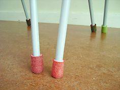 felted foot socks
