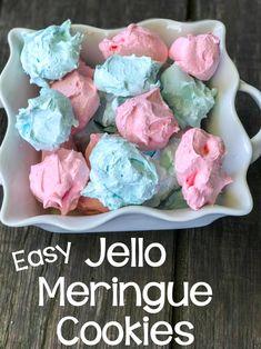 Easy Jello Meringue Cookies
