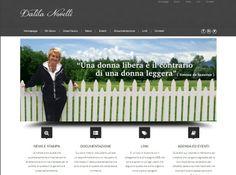 Questa pagina è la homepage del sito della giornalista Dalila Novelli, impegnata da anni nel sociale. Siamo felici di aver realizzato il suo nuovo sito internet http://dalilanovelli.it/chi-sono/  che potrà aggiornare in autonomia grazie all'uso del CMS opensource wordpress.  Per saperne di più visitate la pagina http://www.upane.it/project/dalila-novelli/