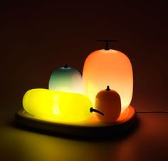 Fruit Table Lamps