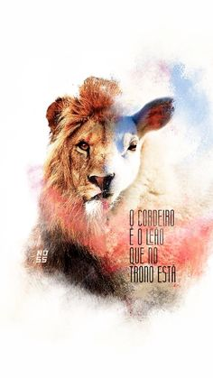 the lamb is the lion that is on the thrown Jesus Wallpaper, Lion Wallpaper, Bible Verse Wallpaper, Jesus Is Lord, Jesus Christ, Batman Christian Bale, Jesus Drawings, Gods Princess, Lion And Lamb