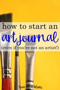 Ahh, this is so awesome! I want to get in the habit of journaling, but it's hard to stay excited. Maybe keeping an art journal would help keep me interested;)