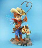 My Little Kitchen Fairies from Enesco Cowboy Fairie Figurine 5.25 IN - 5.25, COWBOY, Enesco, Fairie, Fairies, Figurine, FROM, Kitchen, Little