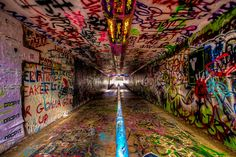 Free Expression Tunnel Photograph of NC State by ThePhotographShop,