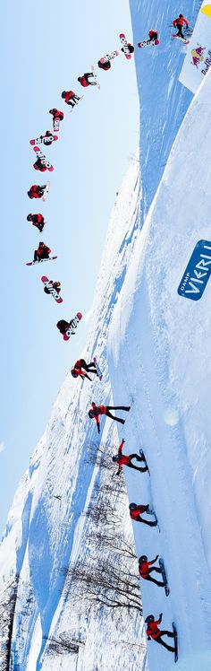 Perfect triple cork. #redbull #snowboarding.    Daniel Tengs / Red Bull Content Pool