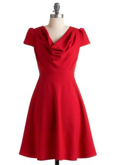 Wowza. A perfect go-to dress. I'm guessing the hem could use a few inches, but it doesn't need much else! Cute with flats, but my fave would be nude heels and a delicate bracelet.