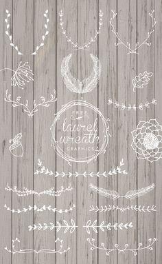 Free Laurel Wreath Graphics - Designs By Miss Mandee