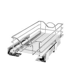 Rev-A-Shelf W x H Pull Out Metal Soft Close Cabinet Organizer at Lowe's. With Rev-A-Shelf's premiere pullout shelves. Kitchen Pantry Storage, Kitchen Pantry Cabinets, Kitchen Drawer Organization, Basket Organization, Kitchen Dining, Pull Out Pantry, Rev A Shelf, Pull Out Drawers, The Rev