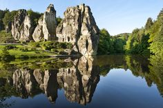 Externsteine, Germany Teutoburger Wald Tourismus / A.Hub