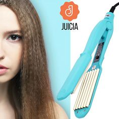 CkeyiN Hair Straightener iron For Wave Hair Corrugated Curling Curler Flat iron Crimper Hair Flat Straightening Iron Top Hair Straighteners, Best Hair Straightener, Hair Straightening Iron, Curling Iron, Best Professional Flat Iron, Curled Hairstyles, Cool Hairstyles, Waves Iron, Hair Crimper