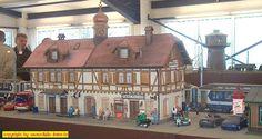 """Ausstellung """"Club der LGB-Freunde Rhein/Sieg"""" in Meckenheim am 19. + 20. März 2005: Bahnhof"""