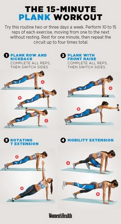 15 Min Plank Workout | Posted by: NewHowtoLoseBellyFat.com