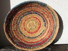 "Maringka Burton Basket from the Indulkana aboriginal community, Australia. Minarri grass and raffia. The Tjanpi (""Grass"") Desert Weavers association represents 400 women artists across 28 aboriginal communities, including some in the most remote regions of Australia."