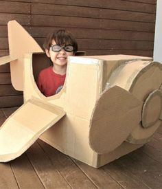 6 Genius Things to Make for Your Kids With a Cardboard Box