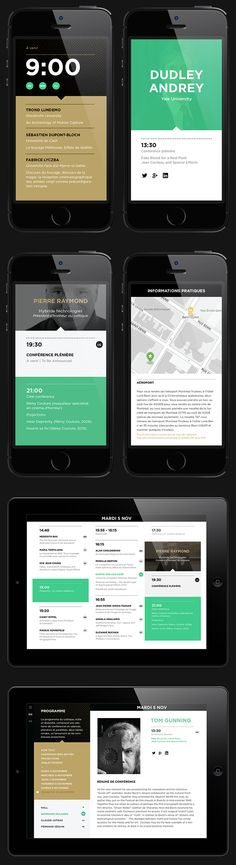 INTERNATIONAL SFX CONFERENCE | Identity, Web by Justin Lortie, via Behance