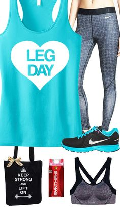 You better learn to Love #LegDay if you want to have a great lower body! LEG DAY Racerback #Workout Tank by #NobullWomanApparel, $24.99 on Etsy. Look good inside the #Gym and out in this Teal theme. Click here to buy https://www.etsy.com/listing/184008779/leg-day-workout-tank-top-teal-gym-tank?ref=shop_home_active_14