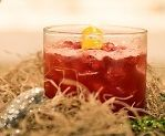 Bloody Tooth Cocktail Recipe. 11/2 oz rye whiskey, 11/2 oz pomegranate juice, 1 oz simple syrup, 1/2 oz freshly squeezed lemon juice, ice cubes, pomegranate seeds (for garnish), lemon twist (for garnish)