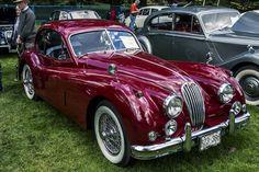 1955 Jaguar XK140 MC / Vancouver All British Field Meet 2014   Flickr - Photo Sharing!