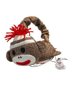 Preteen girls don't like alot, but... Sock Monkey Headphones I think are a WIN; $13.99 on #zulily today!