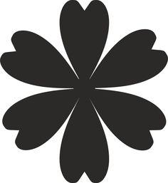 Resultado de imagem para silhouette flower